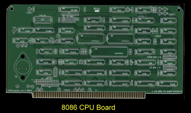 8086 CPU Board (Small)