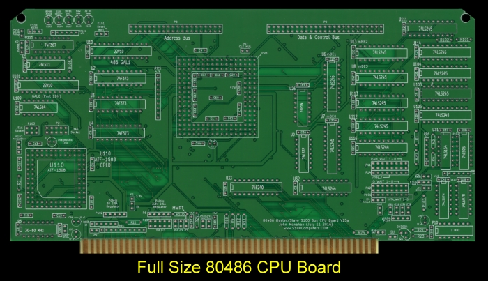 Full Size 80486 CPU Board