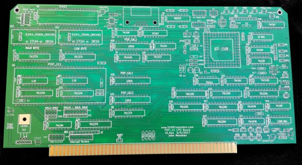 PDP11 CPU Board