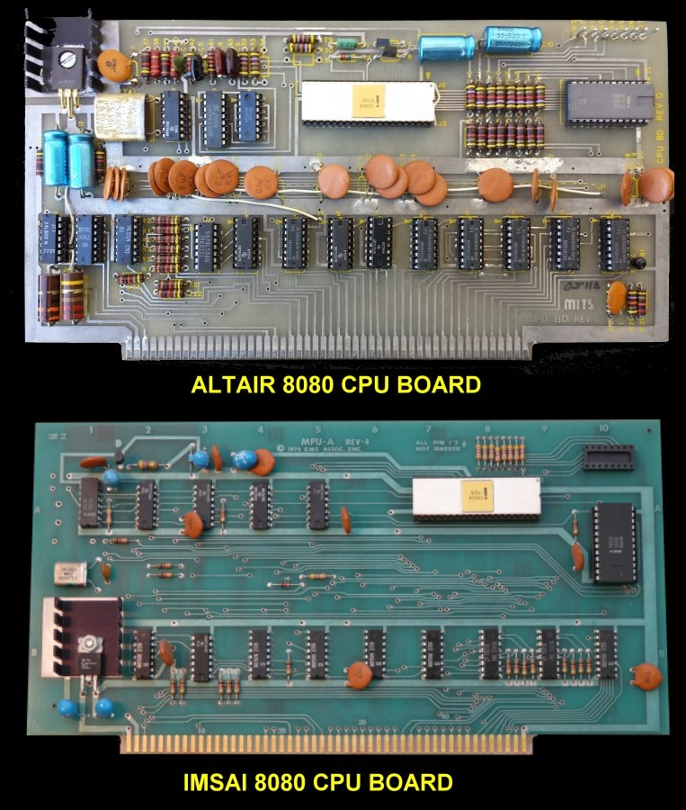 Altair & IMSAI CPU Boards