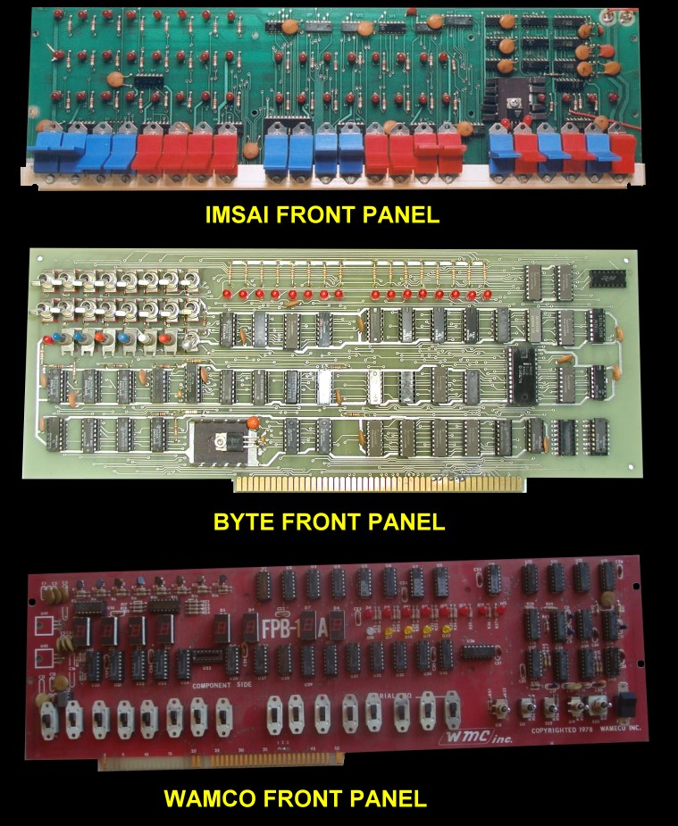 Front Panel Boards