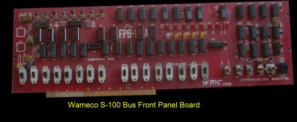 Wamco Front Panel Board