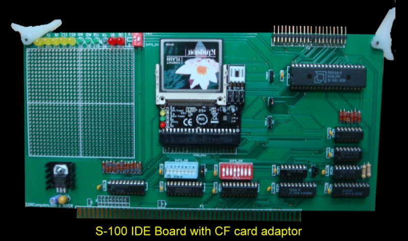 S100 Computers - My System IDE Drive Interface Board