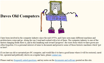 Daves Old Computers Web Site